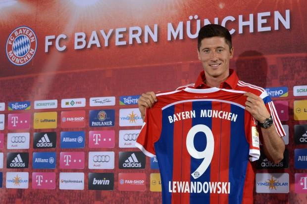 Lewandowski w Bayernie Monachium