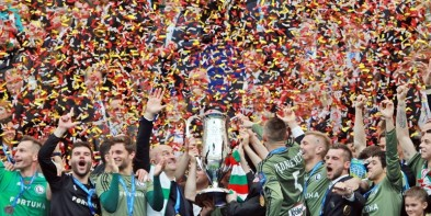 FOTO: Ceremonia dekoracji zdobywców Pucharu Polski
