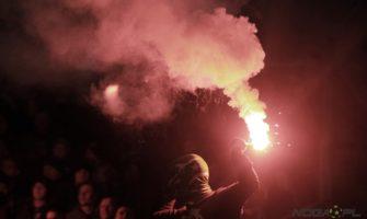 FOTO: Kibice na meczu przyjaźni w  Gdańsku
